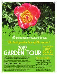 EHS Garden Tour 2019
