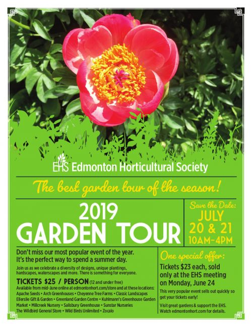 Garden Tour Ticket